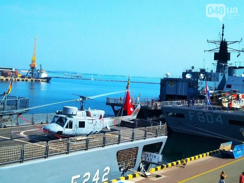 Корабли НАТО в Одессе и круизное судно у морвокзала, - ФОТОРЕПОРТАЖ, фото-5