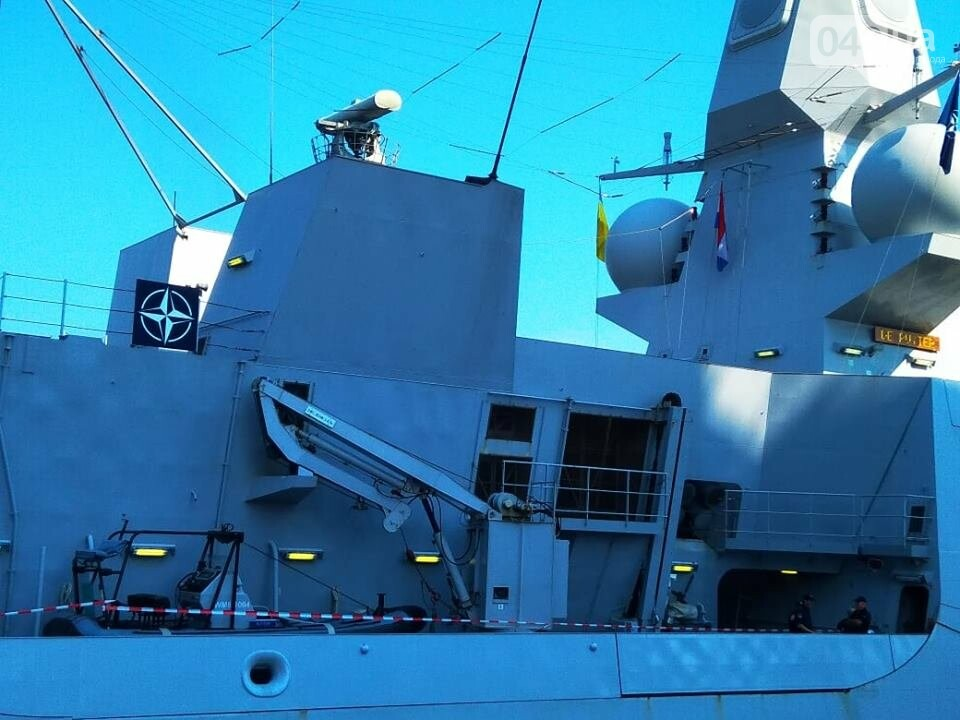 Корабли НАТО в Одессе и круизное судно у морвокзала, - ФОТОРЕПОРТАЖ, фото-7