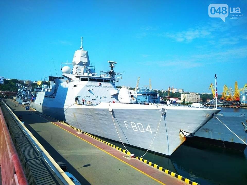 Корабли НАТО в Одессе и круизное судно у морвокзала, - ФОТОРЕПОРТАЖ, фото-8