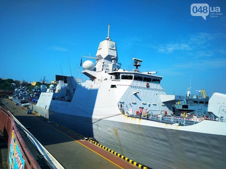 Корабли НАТО в Одессе и круизное судно у морвокзала, - ФОТОРЕПОРТАЖ, фото-9