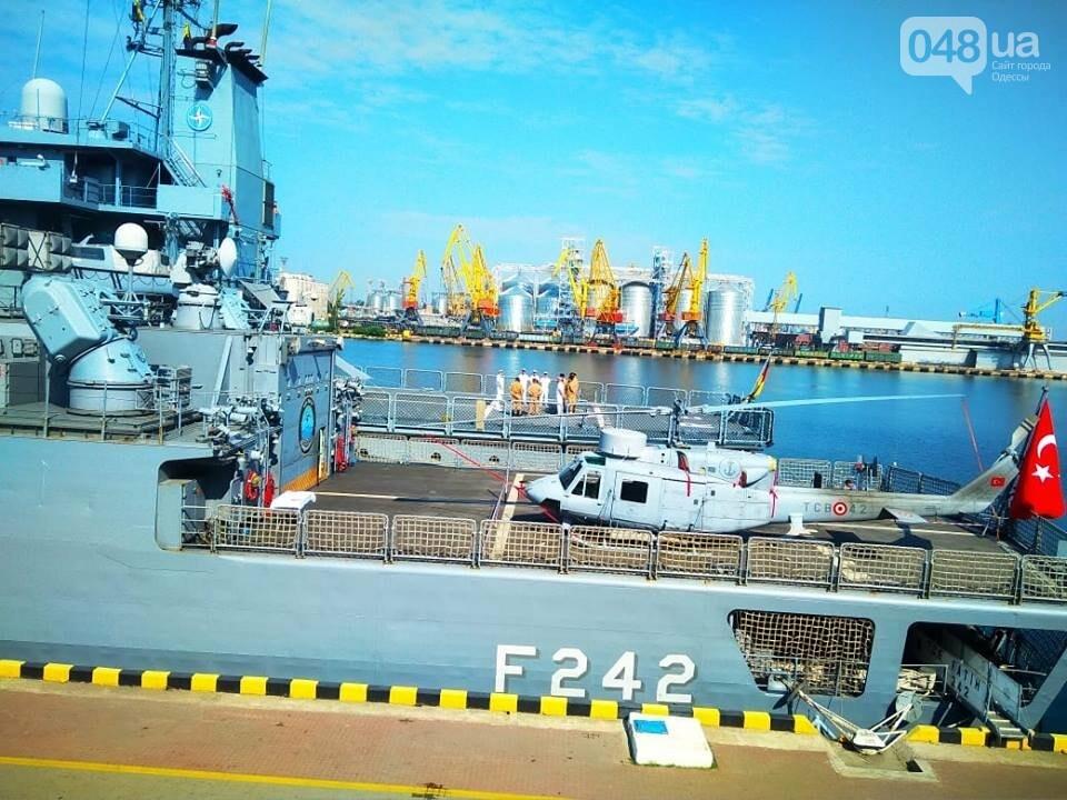 Корабли НАТО в Одессе и круизное судно у морвокзала, - ФОТОРЕПОРТАЖ, фото-10