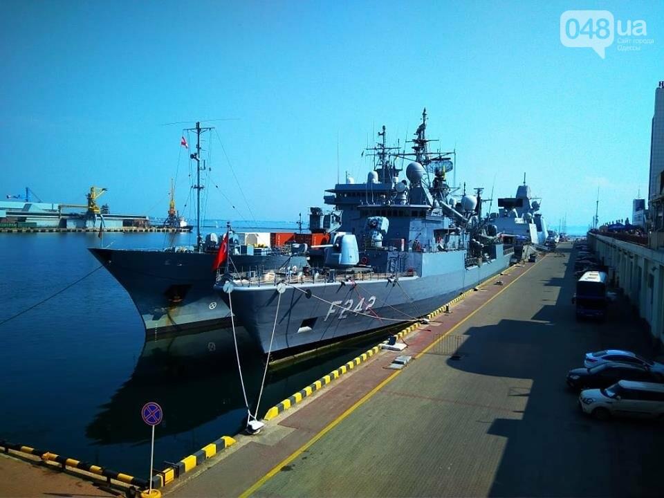 Корабли НАТО в Одессе и круизное судно у морвокзала, - ФОТОРЕПОРТАЖ, фото-11