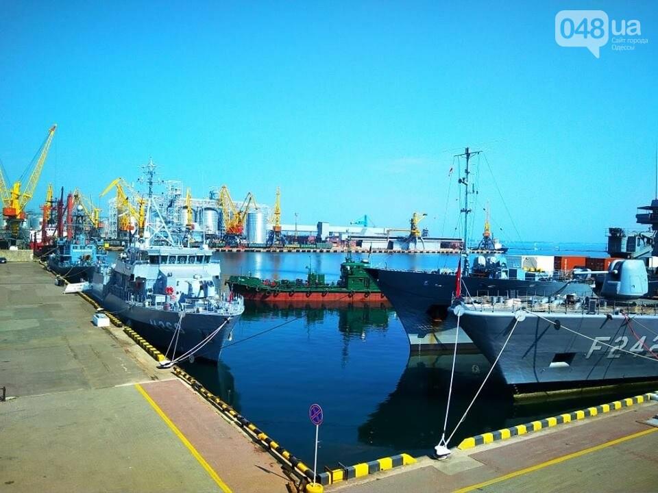 Корабли НАТО в Одессе и круизное судно у морвокзала, - ФОТОРЕПОРТАЖ, фото-12