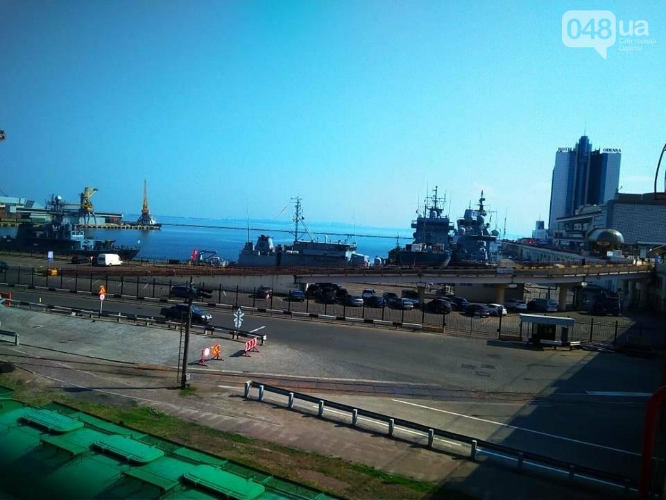 Корабли НАТО в Одессе и круизное судно у морвокзала, - ФОТОРЕПОРТАЖ, фото-13