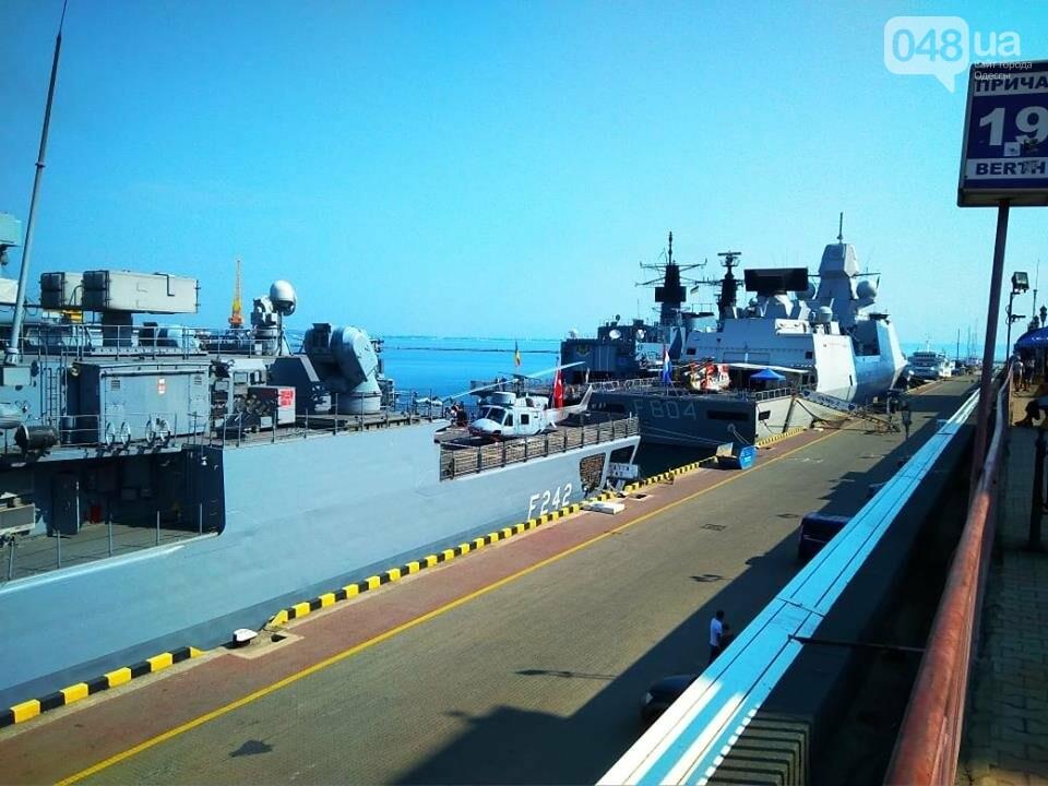 Корабли НАТО в Одессе и круизное судно у морвокзала, - ФОТОРЕПОРТАЖ, фото-14