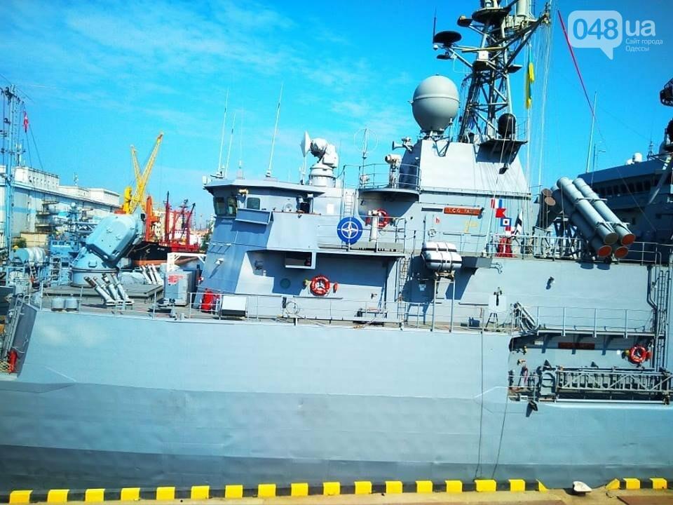 Корабли НАТО в Одессе и круизное судно у морвокзала, - ФОТОРЕПОРТАЖ, фото-15