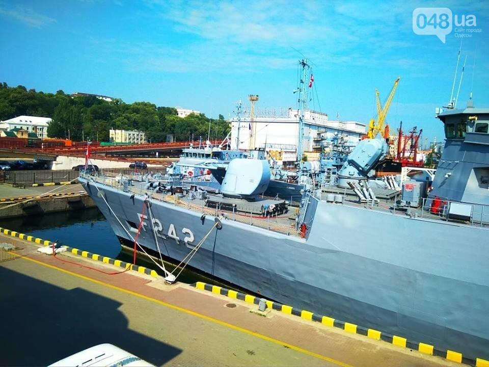 Корабли НАТО в Одессе и круизное судно у морвокзала, - ФОТОРЕПОРТАЖ, фото-16