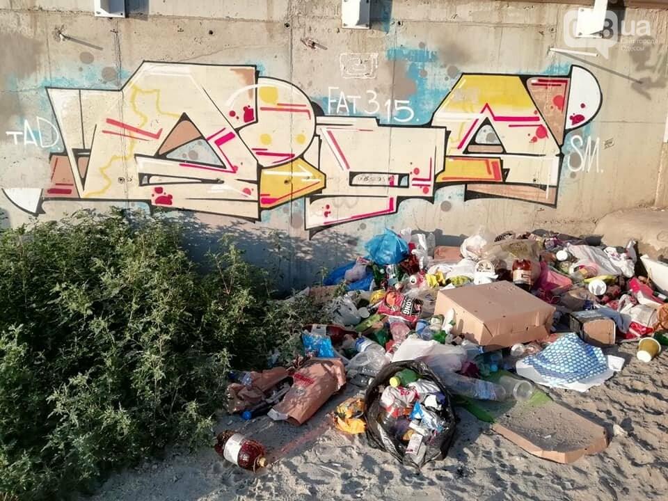 Ты удивишься: сколько мусора можно собрать на одном одесском пляже за час, - ФОТО, фото-1