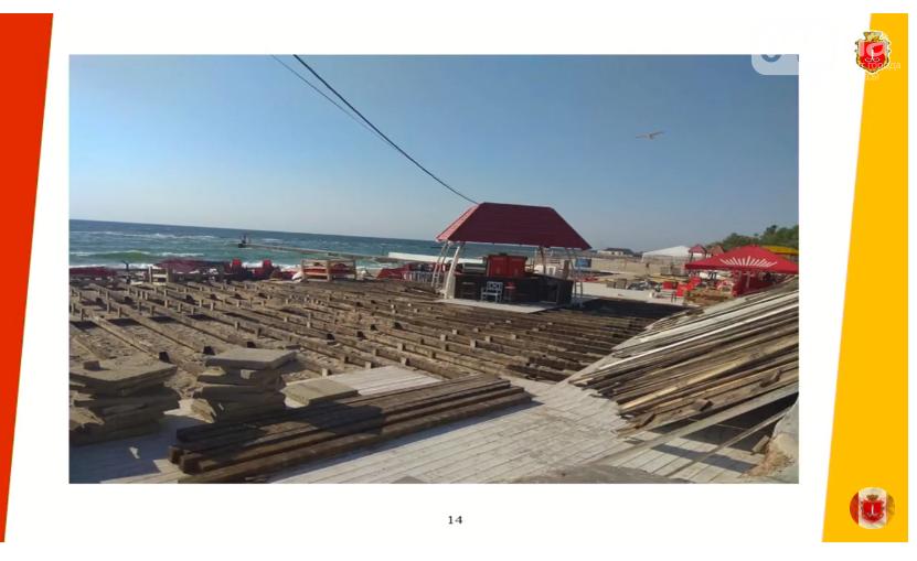 Вовремя: в Одессе признали незаконными настилы и лежаки на пляжах, - ФОТО, фото-5