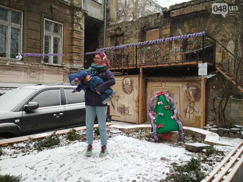 В одесском дворике помощники Святого Николая раздавали подарки, - ФОТОРЕПОРТАЖ, фото-23