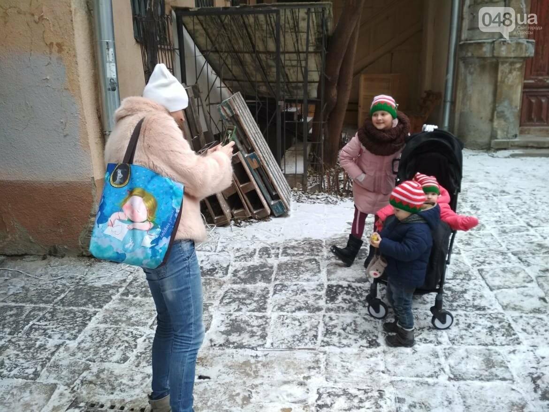 В одесском дворике помощники Святого Николая раздавали подарки, - ФОТОРЕПОРТАЖ, фото-30