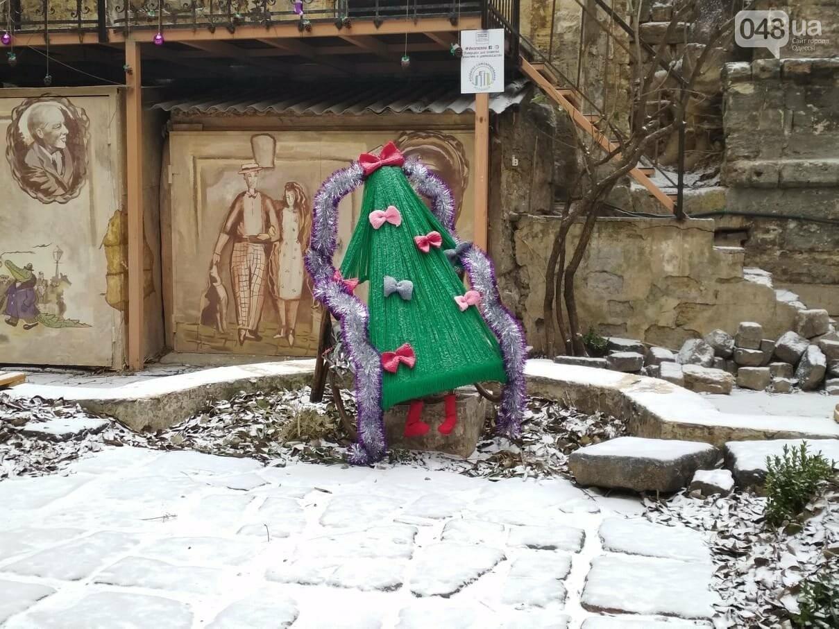 В одесском дворике помощники Святого Николая раздавали подарки, - ФОТОРЕПОРТАЖ, фото-7