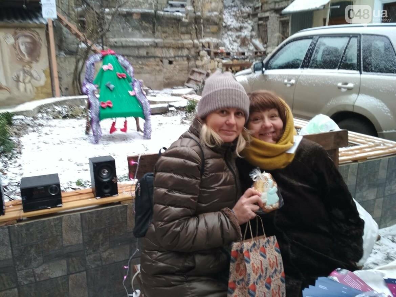 В одесском дворике помощники Святого Николая раздавали подарки, - ФОТОРЕПОРТАЖ, фото-17