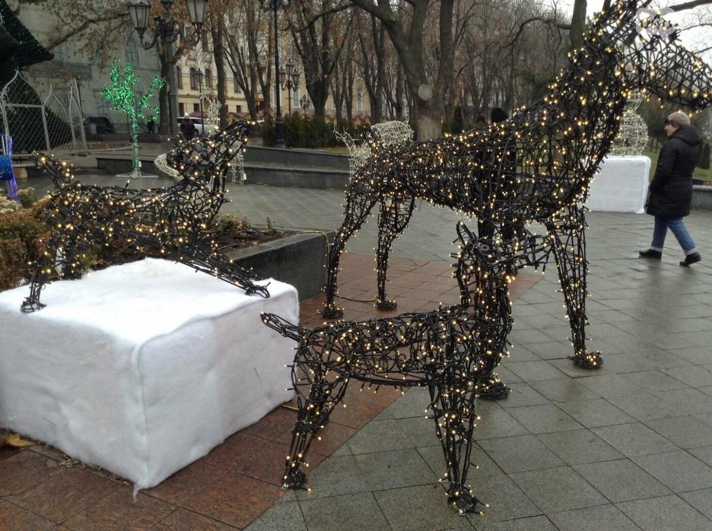 """Новогодняя иллюминация от горсовета """"отсвечивает"""" уголовными делами, - ФОТО, фото-15"""