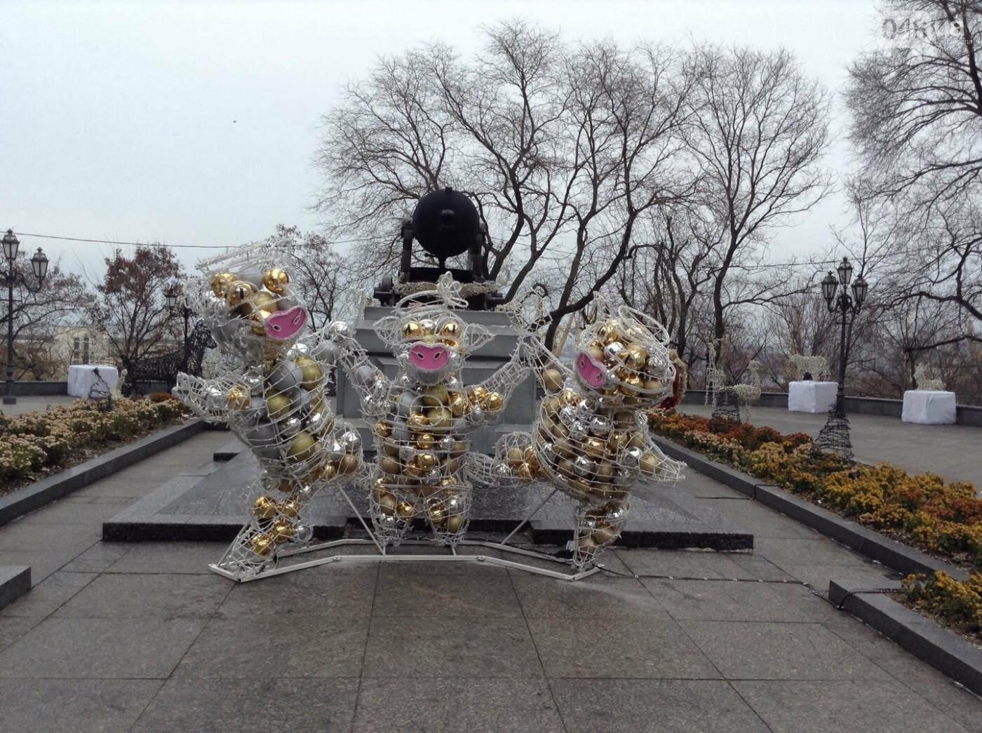 """Новогодняя иллюминация от горсовета """"отсвечивает"""" уголовными делами, - ФОТО, фото-16"""