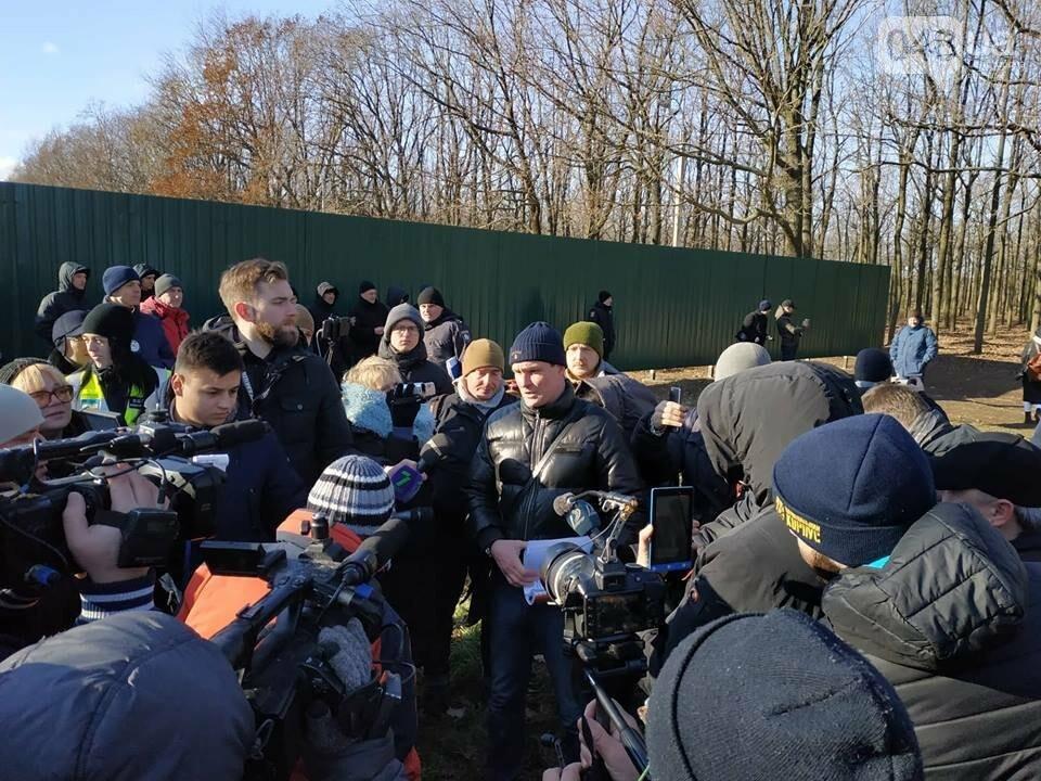 Активисты отвоевывают незаконно захваченный участок одесского парка, - ФОТО, ВИДЕО , фото-2