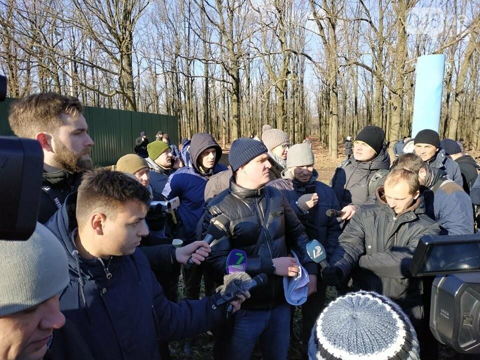Активисты отвоевывают незаконно захваченный участок одесского парка, - ФОТО, ВИДЕО , фото-1