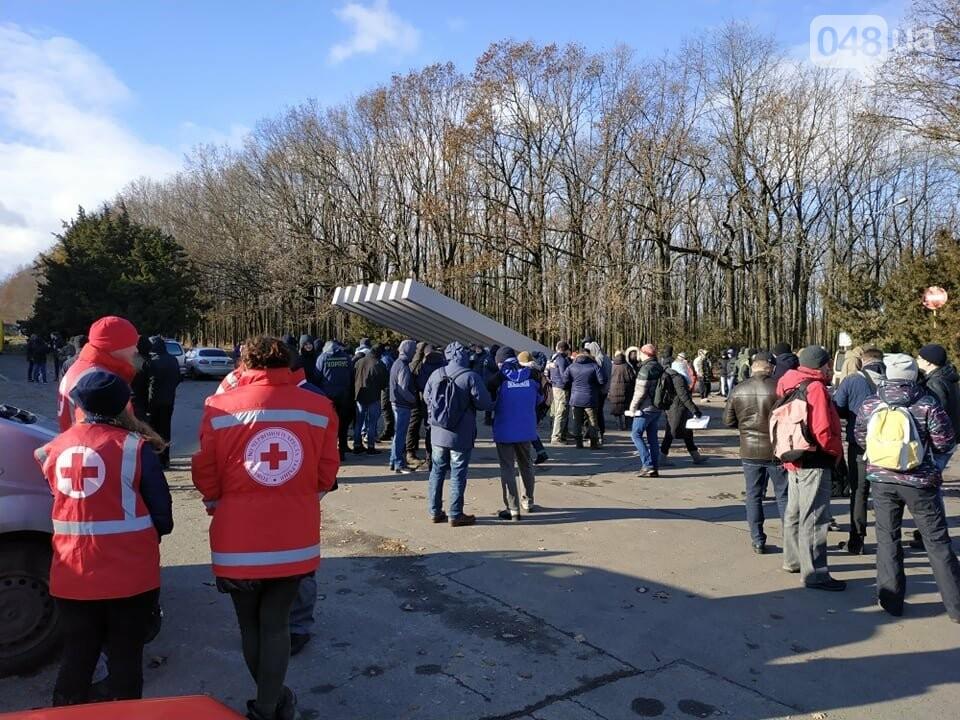 Активисты отвоевывают незаконно захваченный участок одесского парка, - ФОТО, ВИДЕО , фото-23