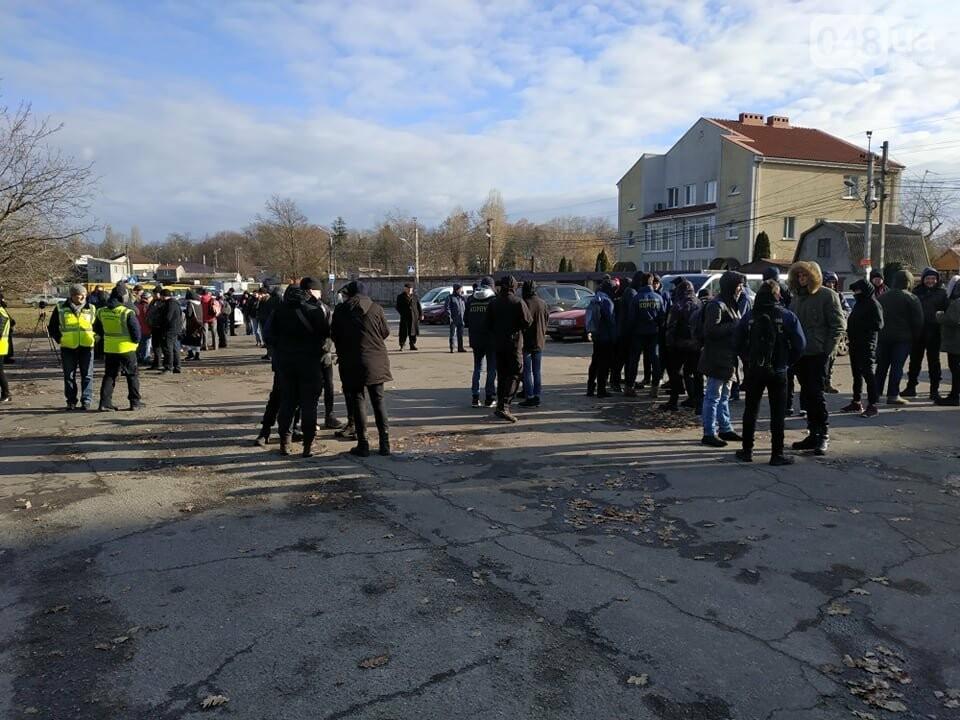 Активисты отвоевывают незаконно захваченный участок одесского парка, - ФОТО, ВИДЕО , фото-6