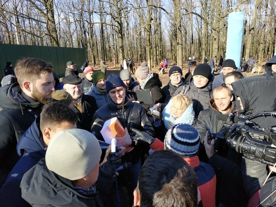 Активисты отвоевывают незаконно захваченный участок одесского парка, - ФОТО, ВИДЕО , фото-16
