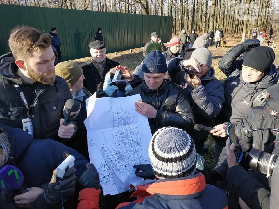 Активисты отвоевывают незаконно захваченный участок одесского парка, - ФОТО, ВИДЕО , фото-5