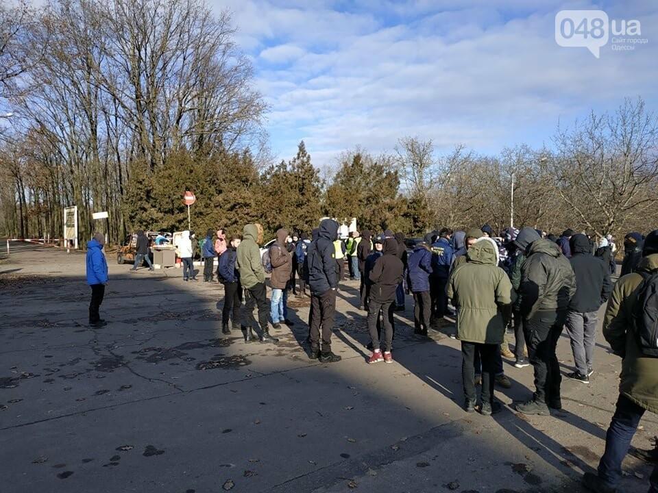 Активисты отвоевывают незаконно захваченный участок одесского парка, - ФОТО, ВИДЕО , фото-17