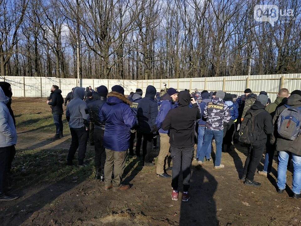 Активисты отвоевывают незаконно захваченный участок одесского парка, - ФОТО, ВИДЕО , фото-15