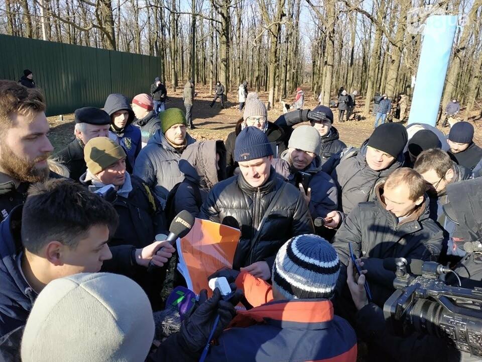Активисты отвоевывают незаконно захваченный участок одесского парка, - ФОТО, ВИДЕО , фото-9