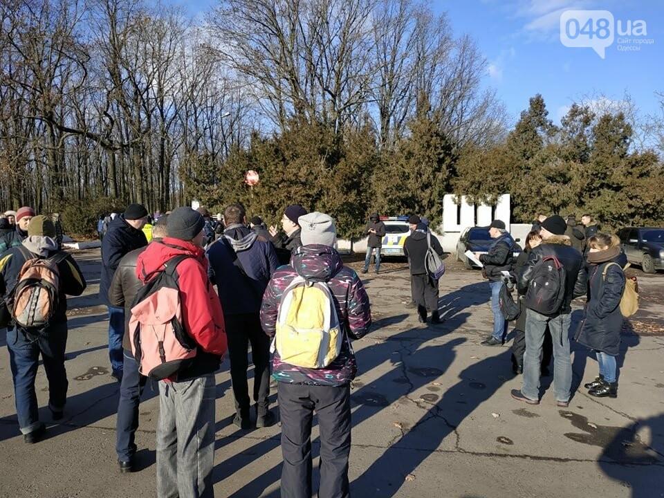 Активисты отвоевывают незаконно захваченный участок одесского парка, - ФОТО, ВИДЕО , фото-25