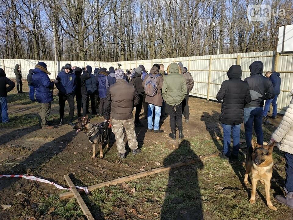 Активисты отвоевывают незаконно захваченный участок одесского парка, - ФОТО, ВИДЕО , фото-21