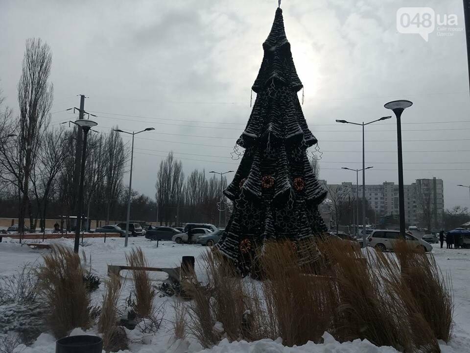 """Дороже, чем на Думской: вот она какая, елка возле одесской """"евромэрии"""", - ФОТО, фото-3"""