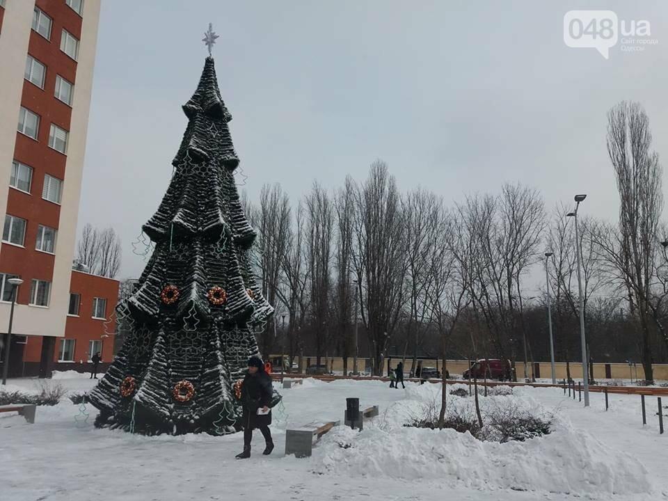 """Дороже, чем на Думской: вот она какая, елка возле одесской """"евромэрии"""", - ФОТО, фото-4"""