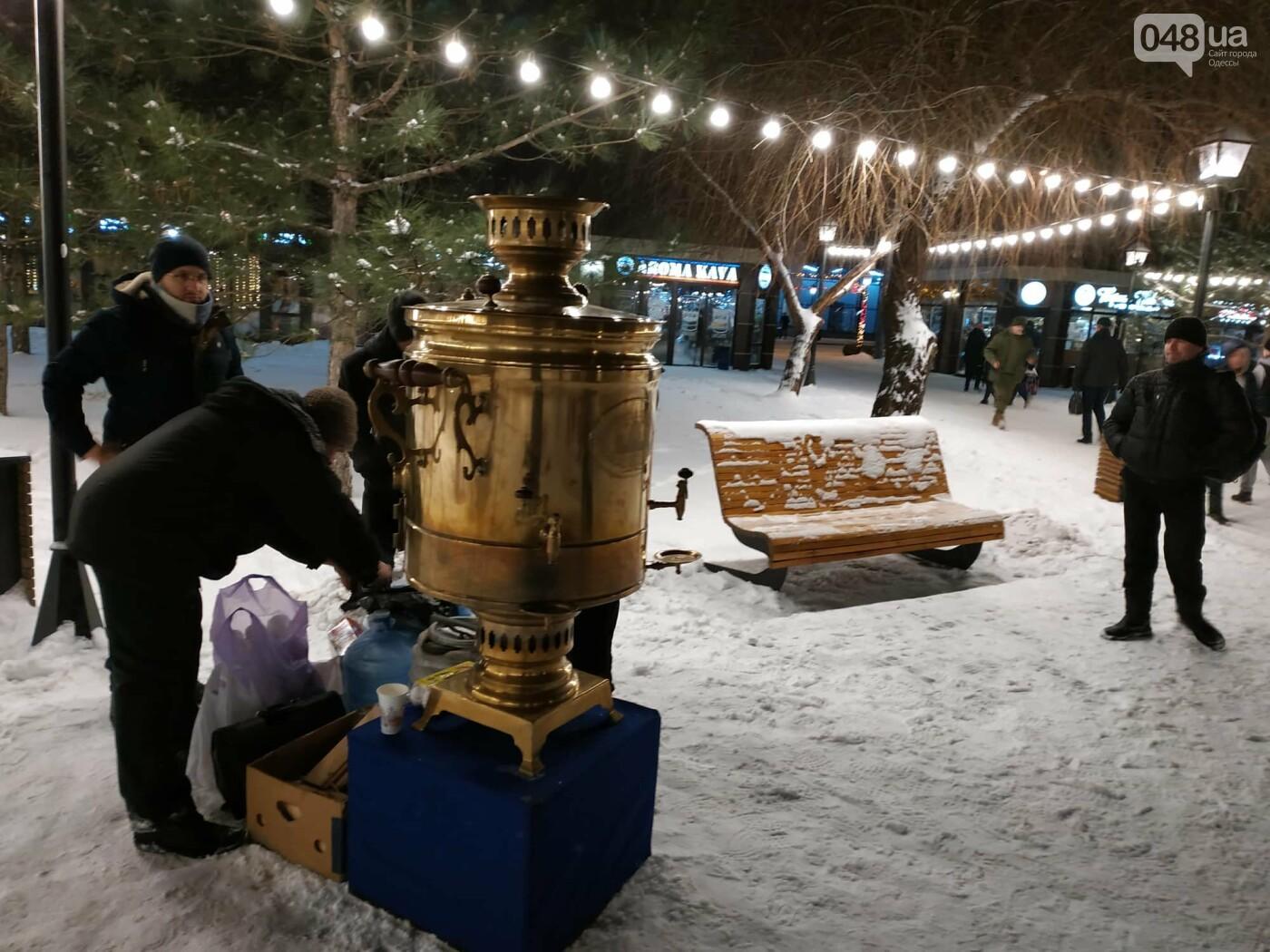 Вместо одесской резиденции Санта Клауса появился Вертеп и самовар на 100 литров, - ФОТО, фото-8