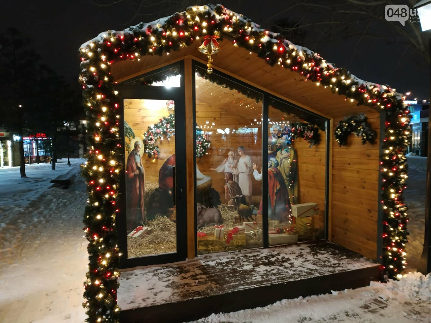 Вместо одесской резиденции Санта Клауса появился Вертеп и самовар на 100 литров, - ФОТО, фото-6