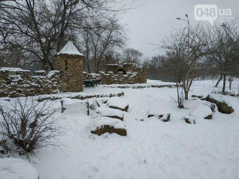 Зима в одесском Парке Победы: снежный фоторепортаж, - ФОТО, фото-43