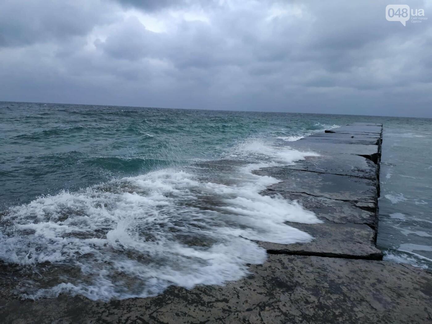 Заснеженные одесские пляжи вечером: вот где стоит прогуляться, - ФОТО, фото-52