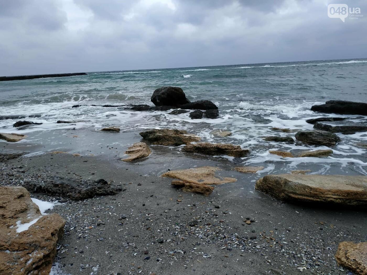Заснеженные одесские пляжи вечером: вот где стоит прогуляться, - ФОТО, фото-79