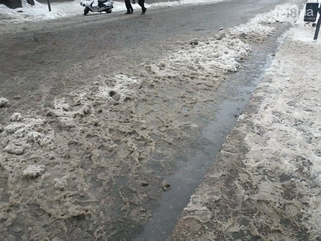 """Дерибасовская """"оккупирована"""" грязью и серыми сугробами, - ФОТОФАКТ, фото-4"""
