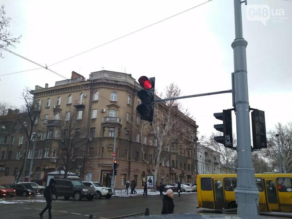 В центре Одессы заработали светофоры, но не все, - ФОТО, фото-2