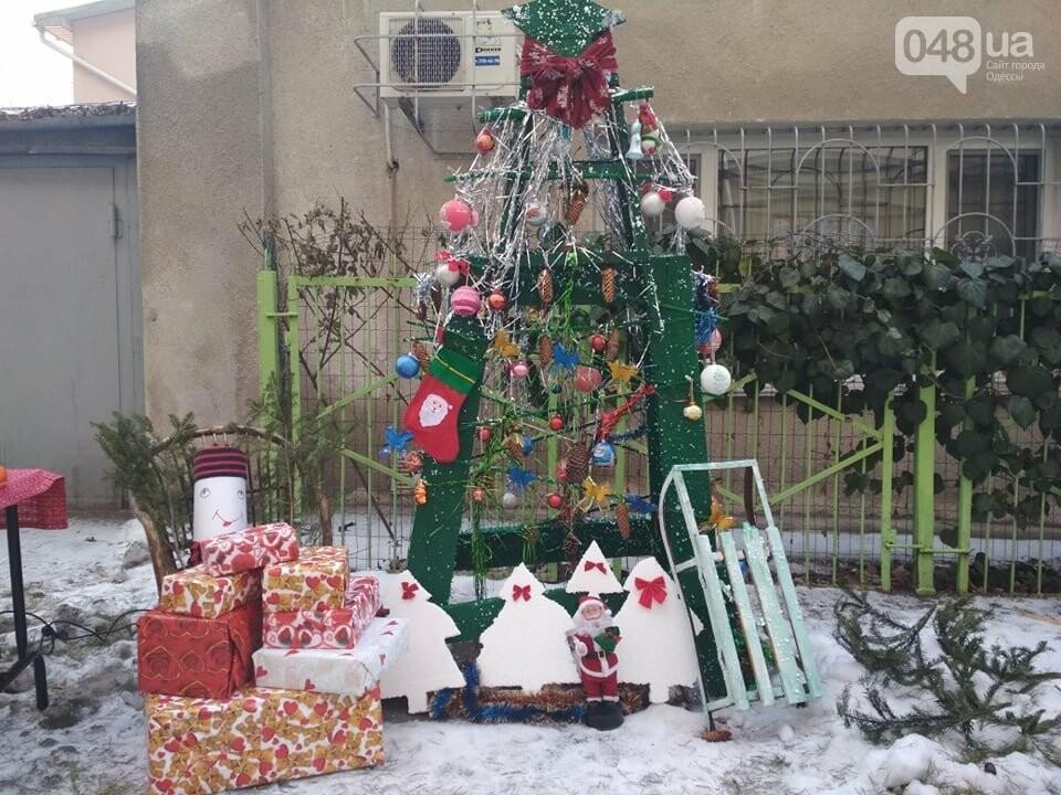 В Одессе выбрали самую красивую дворовую елку, - ФОТО, ВИДЕО, фото-1