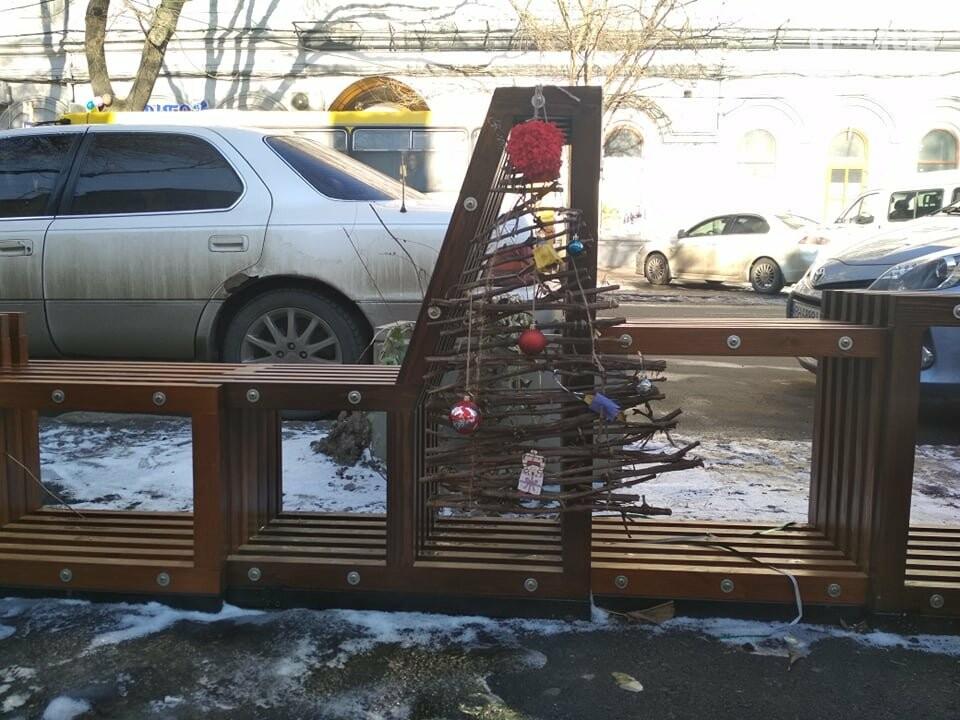 Одесский парклет зимует в целости, но в одиночестве, - ФОТО, фото-3