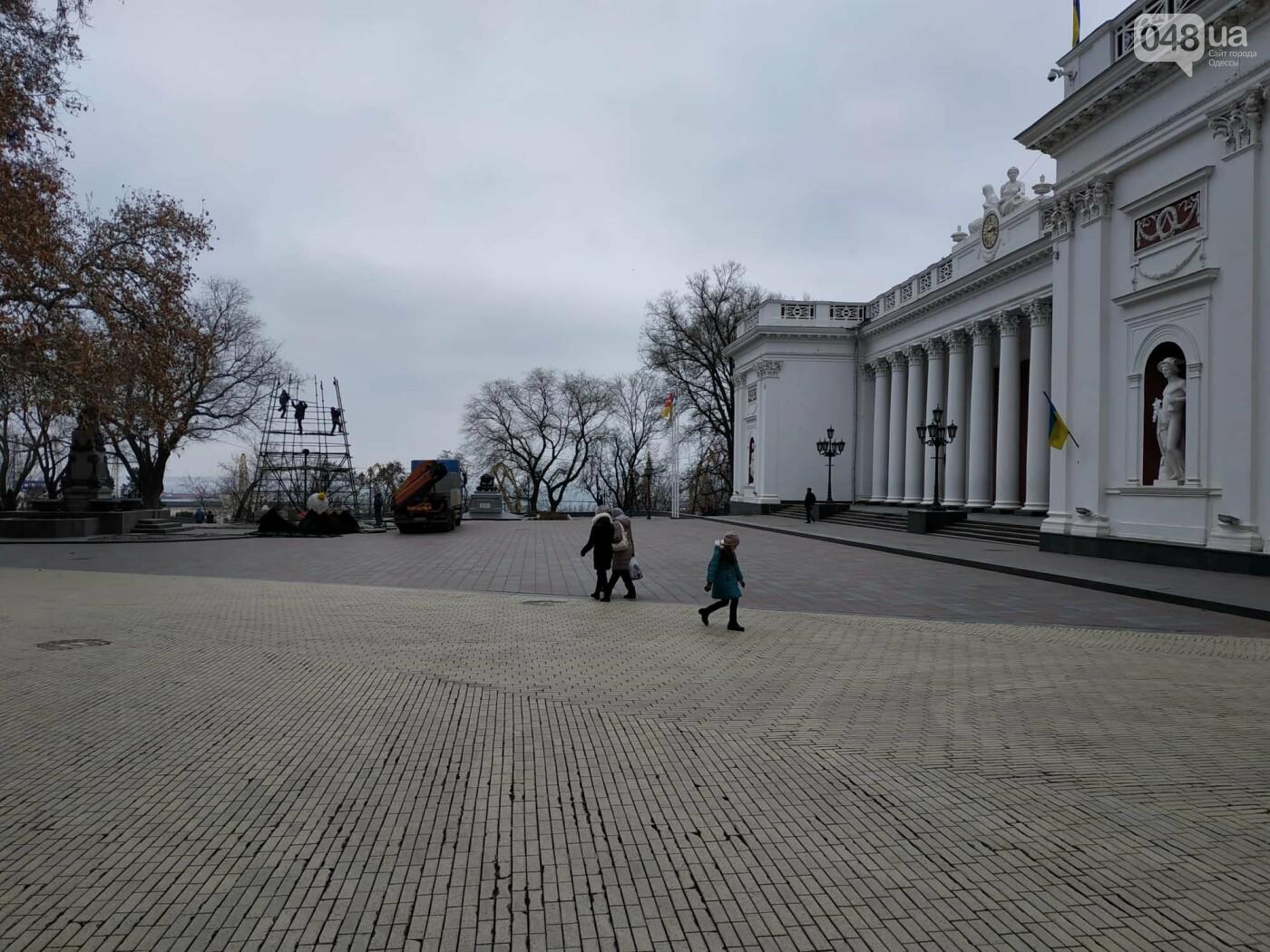 Праздники закончились: главную елку Одессы разбирают, - ФОТО, фото-4
