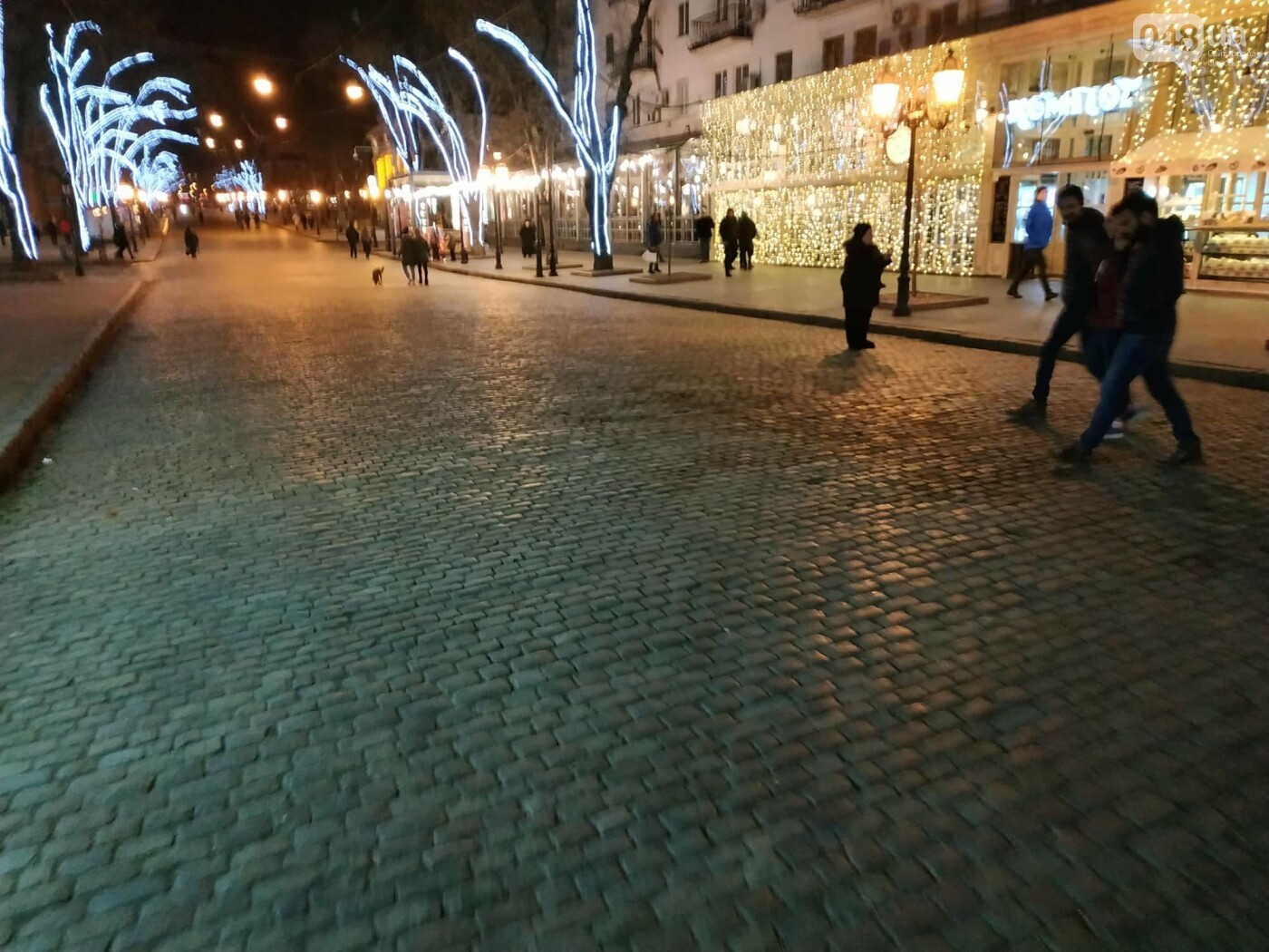 На Дерибасовской убрали: ни грязи, ни елочки, - ФОТО , фото-4