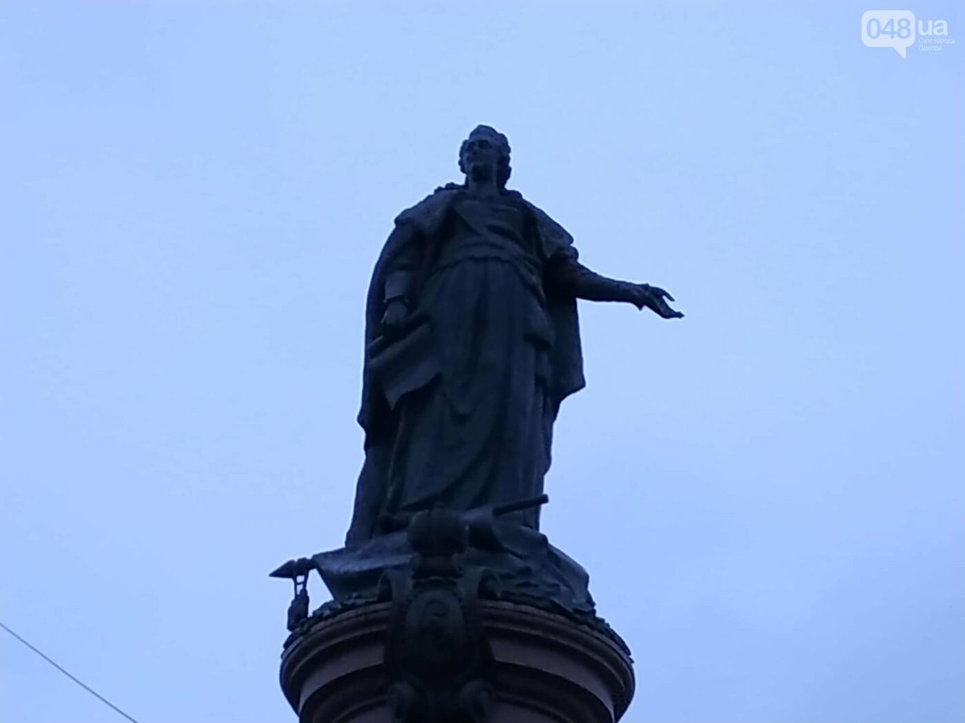 В Одессе умыли императрицу Екатерину, - ФОТО, фото-1