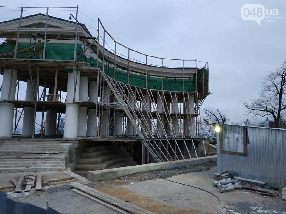 Одесская мэрия не выполнила обещания: реставрация бельведера остановлена, - ФОТО, фото-5