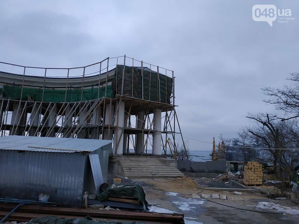 Одесская мэрия не выполнила обещания: реставрация бельведера остановлена, - ФОТО, фото-7