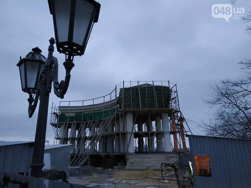Одесская мэрия не выполнила обещания: реставрация бельведера остановлена, - ФОТО, фото-8
