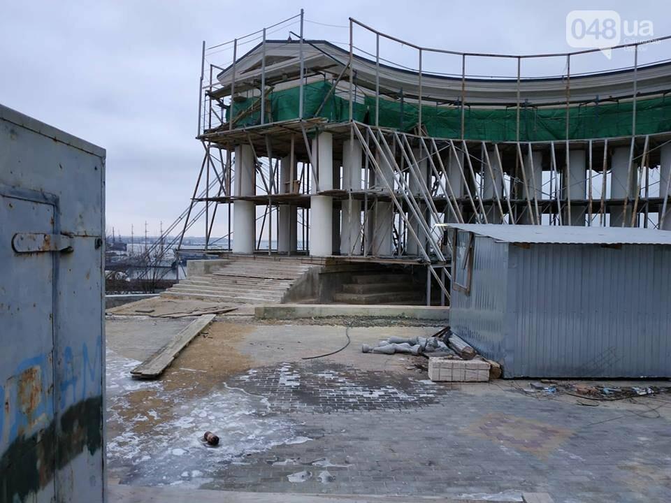 Одесская мэрия не выполнила обещания: реставрация бельведера остановлена, - ФОТО, фото-14