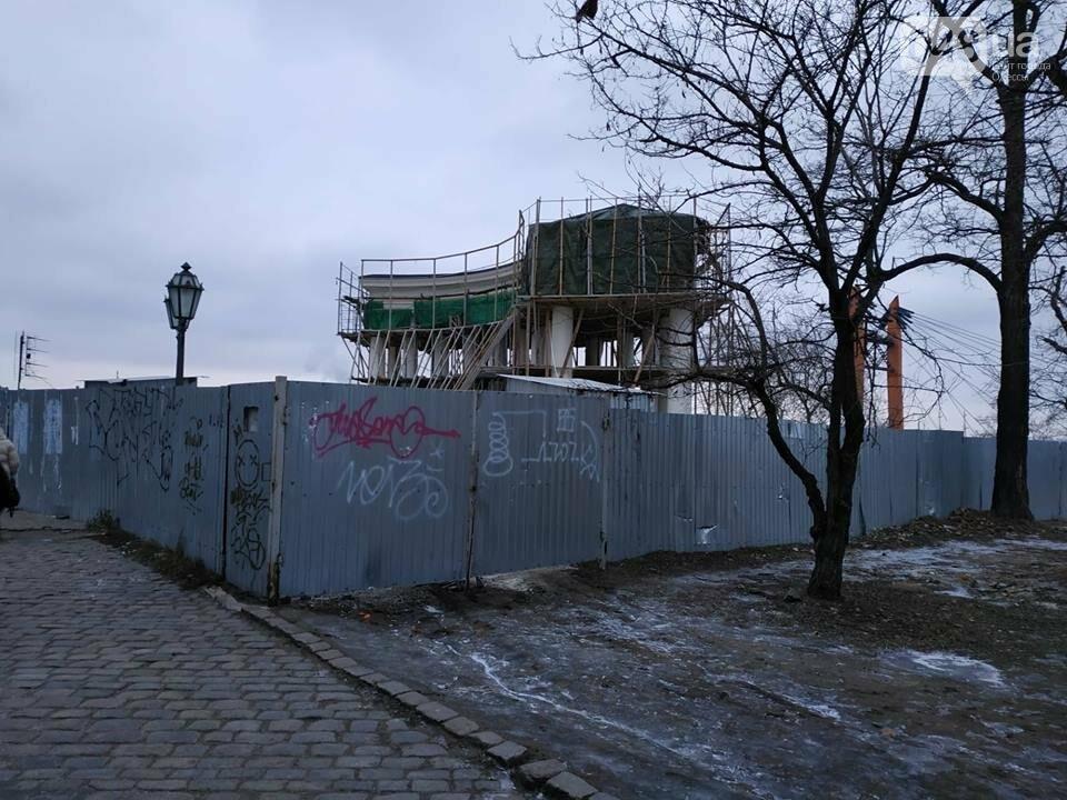 Одесская мэрия не выполнила обещания: реставрация бельведера остановлена, - ФОТО, фото-2