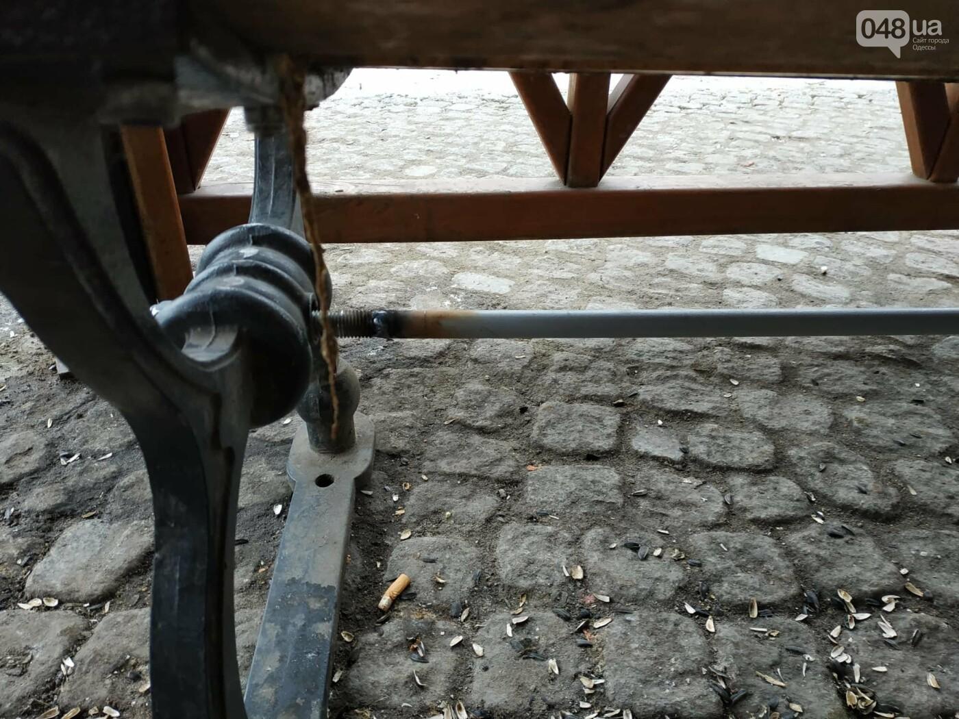 """Одесские охотники за металлом атакуют """"Стамбульский парк"""", - ФОТО, ВИДЕО, фото-4"""